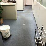 厚木事務所の法律相談用個室などの清掃