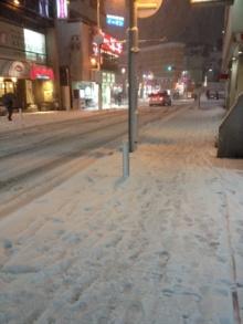 厚木の雪の日2